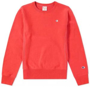 Champion Mikina Reverse Weave Crewneck Red