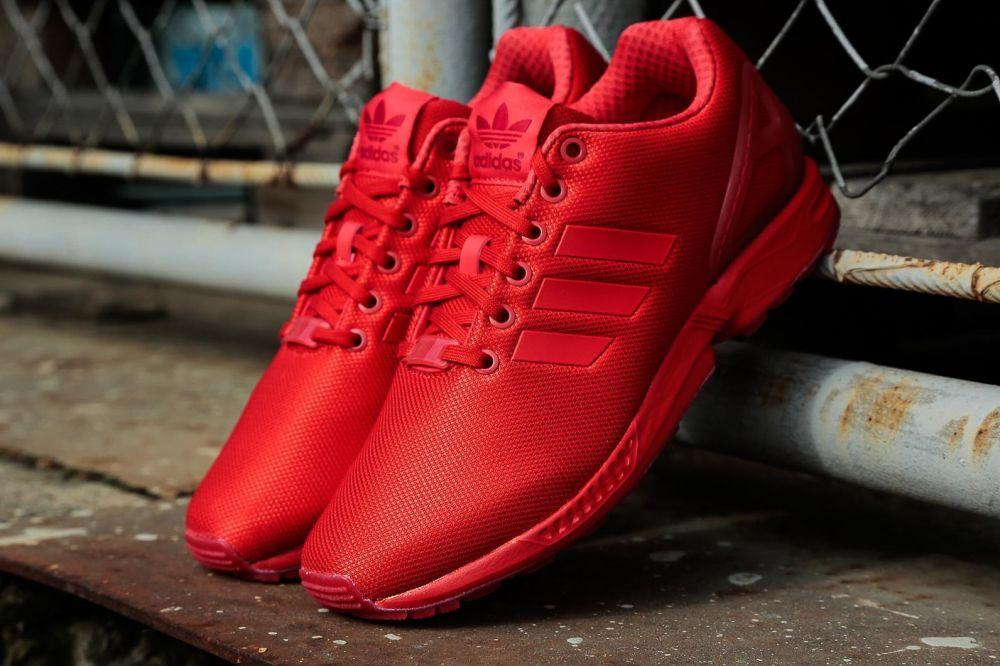 new arrival 99058 cc8d5 adidas Originals Tenisky ZX Flux Red