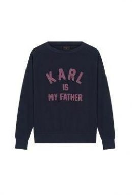 Eleven Paris Mikina Karl is my Father