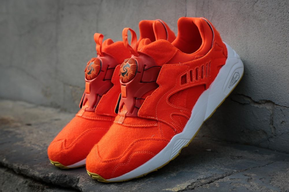 the best attitude ee6f5 3a76d Puma Tenisky Disc Blaze Bright Orange značky Puma - Lovely.sk