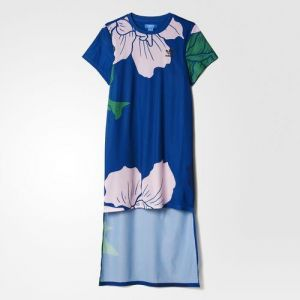 adidas Originals Šaty Floral Engraving Long Dress