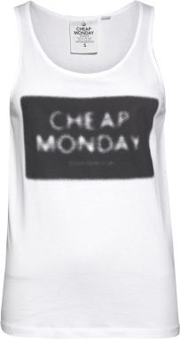 Cheap Monday Front tank Nuclear logo Top