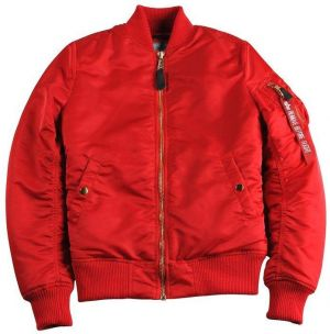 Alpha Industries MA-1 VF PM Wmn Bomber Bunda Red