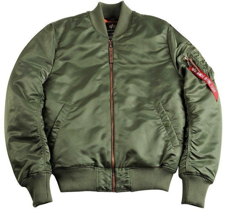 Alpha Industries MA-1 VF PM Bomber Bunda Sage Green značky Alpha Industries  - Lovely.sk 943ebab53a8