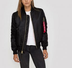 Alpha Industries MA-1 SF Wmn Bomber Bunda Black