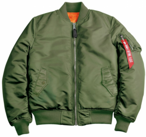 Alpha Industries MA-1 SF Wmn Bomber Bunda Sage Green