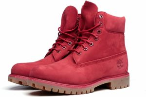 Timberland Topánky 6-Inch Premium Boot Red