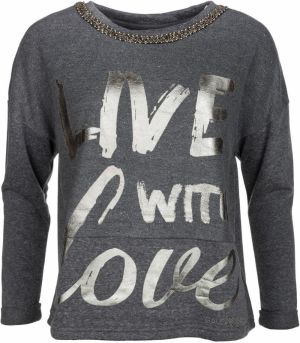 Gaudi Jeans Live with Love Mikina