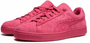 Puma Tenisky Suede Classic + Colored Rose Red