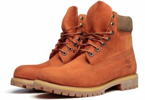 Timberland Topánky 6-Inch Premium Boot Orange