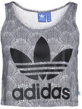 adidas Originals Shell Cropped Tank Top