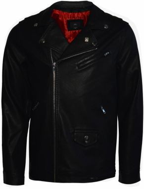 OBEY Obey Bunda Bastard PU Jacket Black