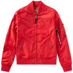Alpha Industries MA-1 TT Wmn Bomber Bunda Speed Red