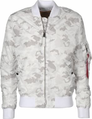 Alpha Industries MA-1 TT Bomber Bunda White Camo