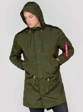 Alpha Industries Bunda Hooded Fishtail TT