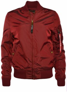 Alpha Industries MA-1 TT Wmn Bomber Bunda Burgundy