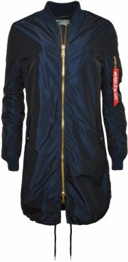 Alpha Industries MA-1 LW Coat Iridium Blue Wmn