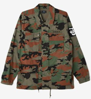 OBEY Obey Bunda Tripper Jacket Camo