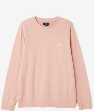 OBEY Obey Mikina Park Crewneck Rose