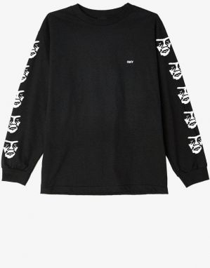 OBEY Obey The Creeper Basic Long Sleeve Tee Black