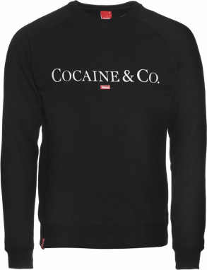 Kream Mikina Cocaine & Co Crewneck