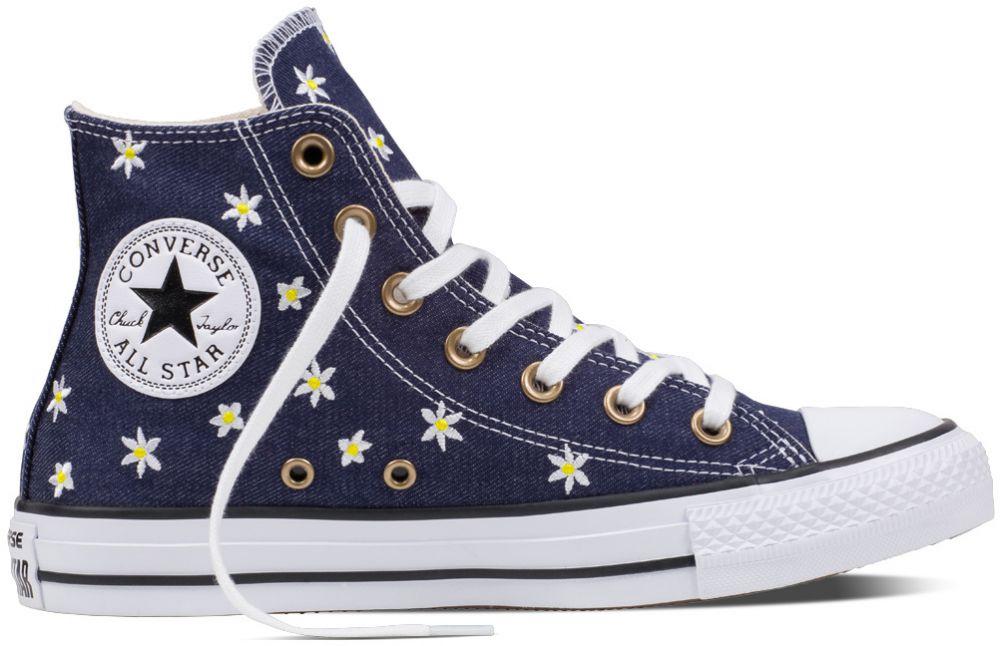Converse modré kotníkové tenisky CTAS Hi Navy Fresh Yellow White značky  Converse - Lovely.sk 090603dba1