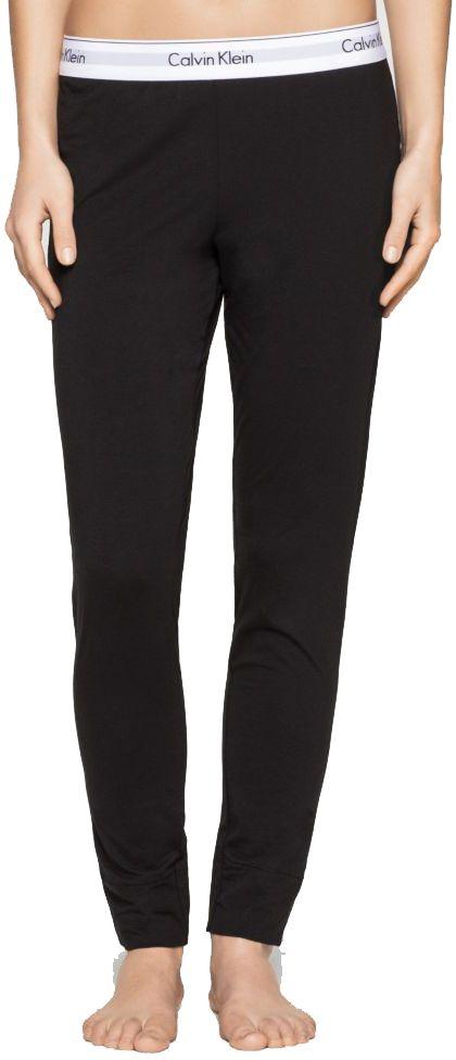 4bd87d3e516d Calvin Klein čierne nohavice Legging Pant s bielou gumou značky Calvin Klein  - Lovely.sk