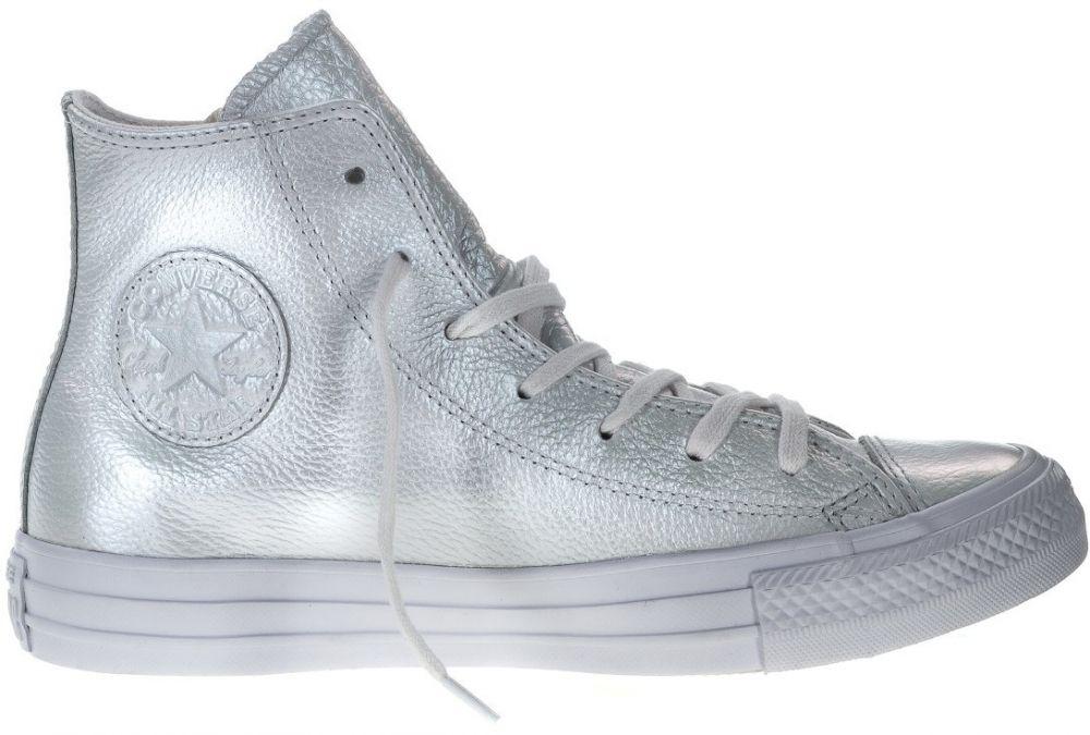 27cd5d95c4 Converse biele perleťové kožené tenisky Chuck Taylor All Star značky  Converse - Lovely.sk
