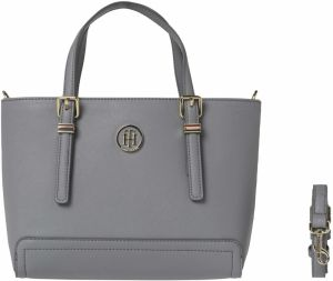 Tommy Hilfiger sivá kabelka Honey Small Tote
