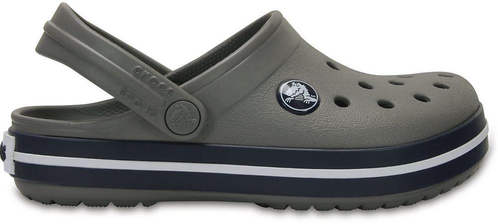 Crocs šedé dětské boty Crocband Clog Kids Smoke Navy značky Crocs -  Lovely.sk cfa79e4dce