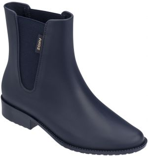 Zaxy modré gumáky London Boot II Fem Navy Blue