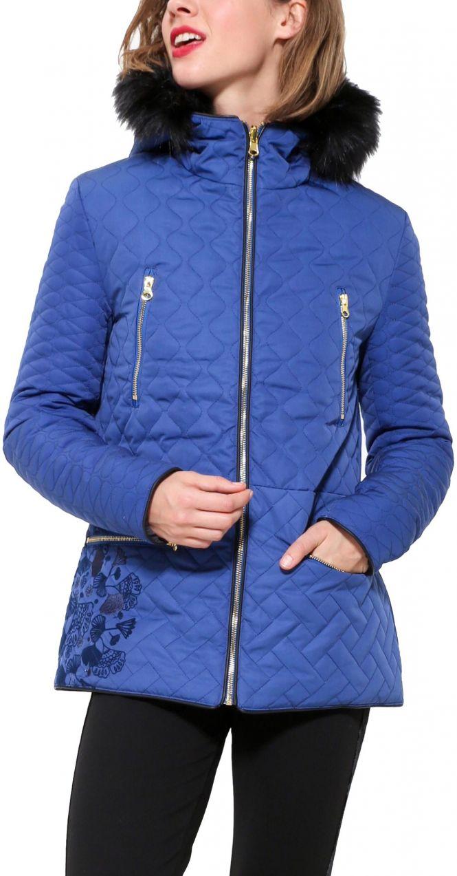 Desigual obojstraná zimná dámska bunda Fran značky Desigual - Lovely.sk 406c96f1376