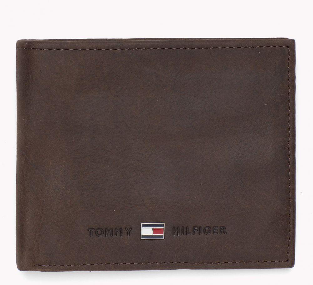 be4d85df1 Tommy Hilfiger tmavo hnedá pánska kožená peňaženka Johnson Mini značky Tommy  Hilfiger - Lovely.sk