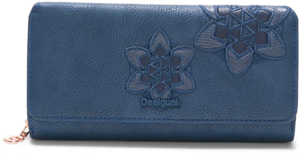 837af930cf5e Desigual modrá peňaženka Trip Maria značky Desigual - Lovely.sk