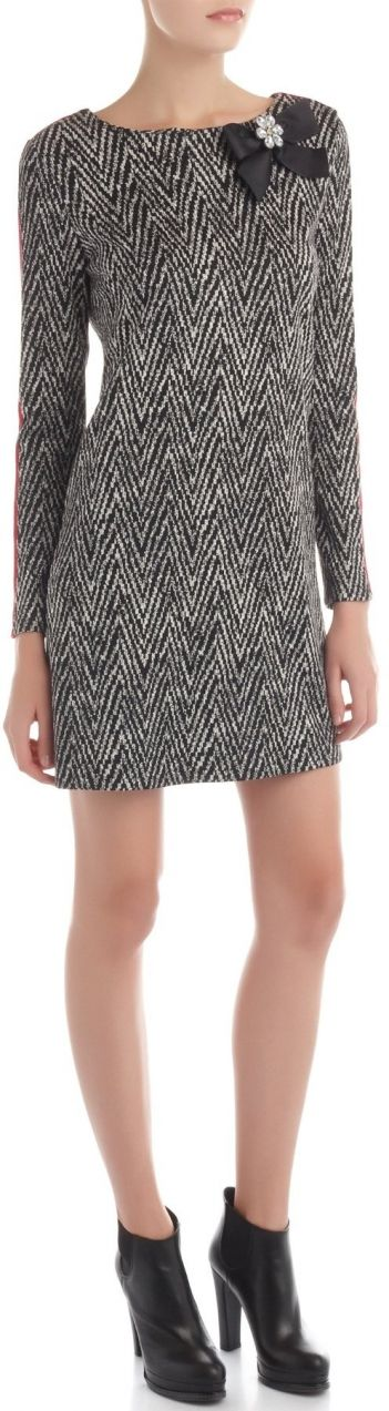 2e9b37997 Rinascimento čierno-biele šaty s mašľou značky Rinascimento - Lovely.sk