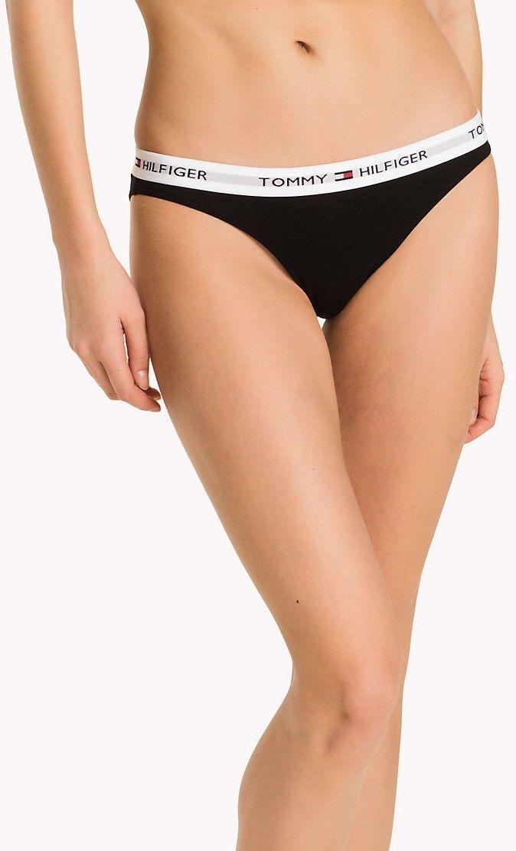 10b787a0f25c Tommy Hilfiger čierne nohavičky Bikini Iconic značky Tommy Hilfiger ...