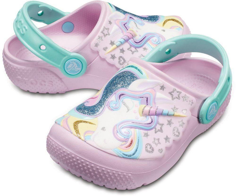 Crocs růžové dívčí boty Fun Lab Clog Ballerina Pink New Mint značky Crocs -  Lovely.sk 76ae9a1800