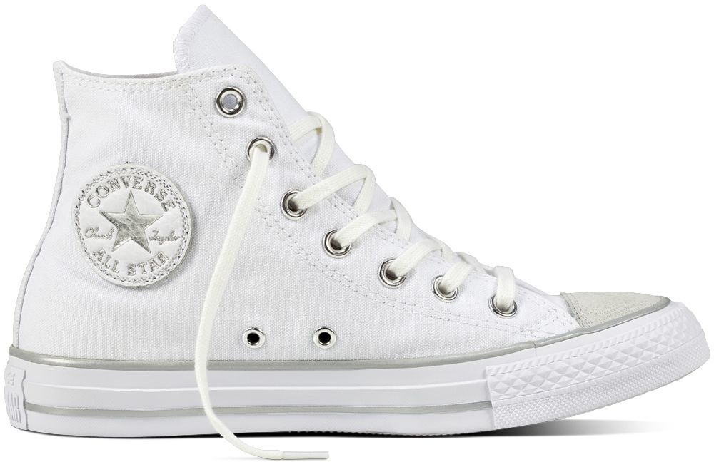 70496ca8816 Converse kotníkové tenisky Chuck Taylor All Star Hi White Silver značky  Converse - Lovely.sk