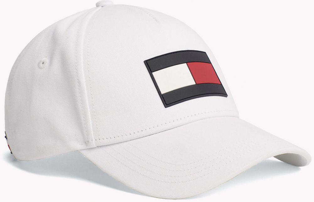 fc6240fe38 Tommy Hilfiger bílá kšiltovka TH Flag Cap značky Tommy Hilfiger - Lovely.sk