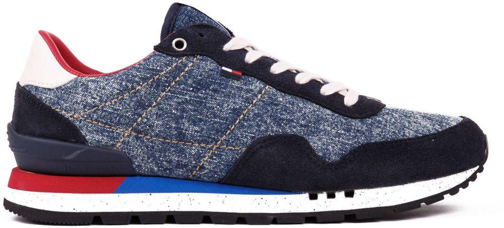 934919eab50 Tommy Hilfiger modré pánske tenisky Tommy Jeans Lifestyle Sneaker Denim  značky Tommy Hilfiger - Lovely.sk