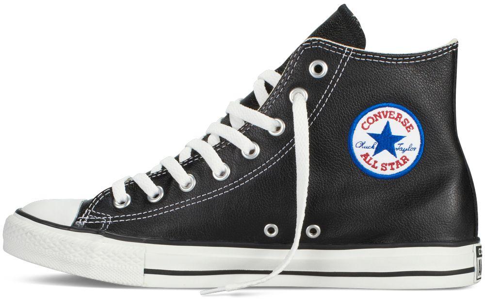 c2ee75610d7bc Converse čierne kožené dámske tenisky Chuck Taylor All Star Hi Black značky  Converse - Lovely.sk