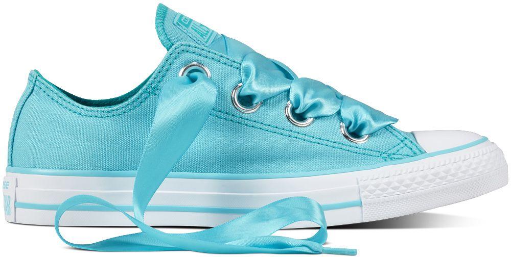 b518d103f Converse modré dámske nízke tenisky Chuck Taylor All Star so saténovými  šnúrkami značky Converse - Lovely.sk