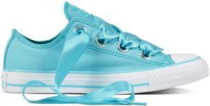 Converse modré dámske nízke tenisky Chuck Taylor All Star so saténovými  šnúrkami 31b4210d85