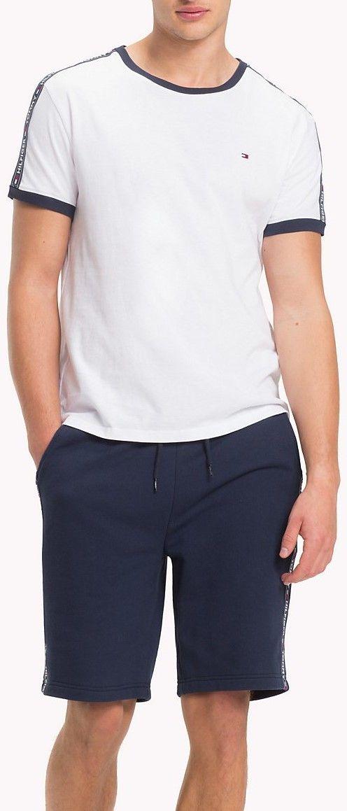 cd2c9bfaca Tommy Hilfiger biele pánske tričko RN Tee SS značky Tommy Hilfiger -  Lovely.sk