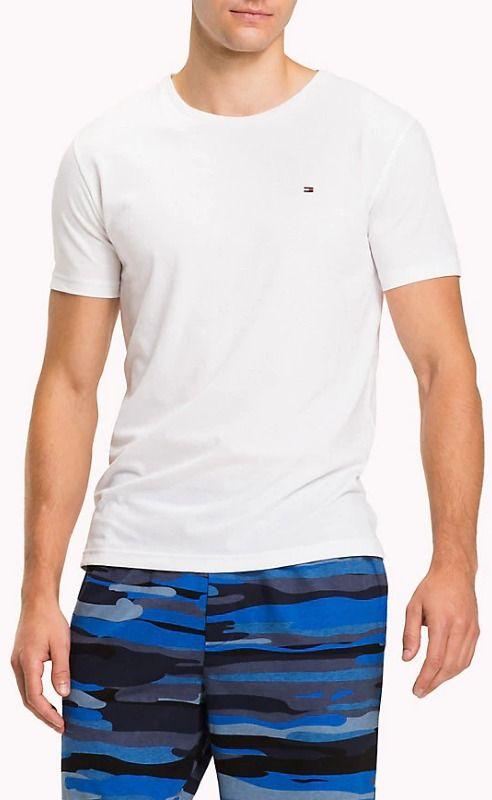 05fafaceb7 Tommy Hilfiger biele pánske tričko CN Tee SS Logo značky Tommy Hilfiger -  Lovely.sk