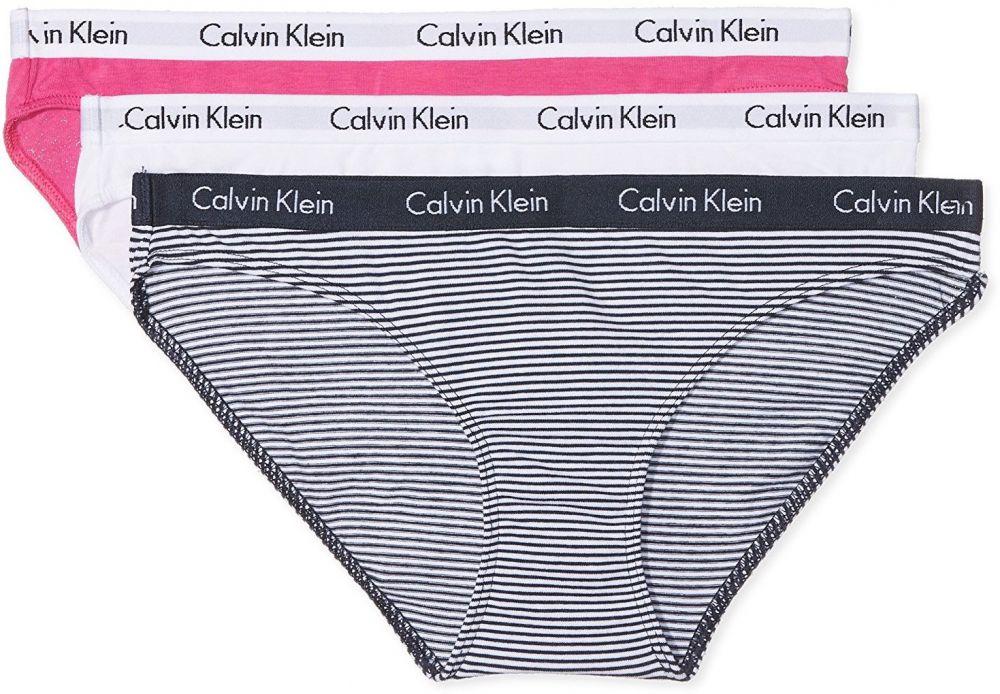 ad8a5dfea4 Calvin Klein 3 Pack farebných dámskych nohavičiek Bikinis značky Calvin  Klein - Lovely.sk