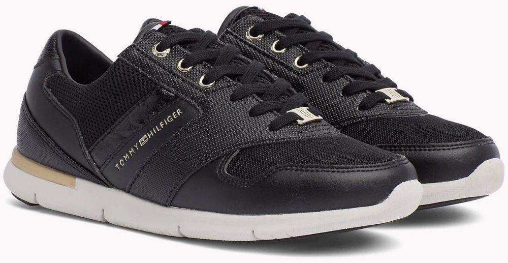Tommy Hilfiger čierne tenisky Light Weight Breathable Sneaker Black značky Tommy  Hilfiger - Lovely.sk ee0154ddc0