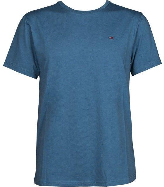 Tommy Hilfiger svetlo modré pánske tričko CN Tee SS Logo značky Tommy  Hilfiger - Lovely.sk fd0219d5a1