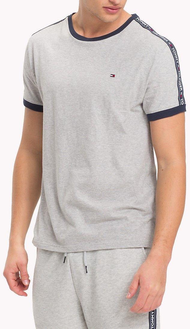 416e821409b Tommy Hilfiger sivé pánske tričko RN Tee SS značky Tommy Hilfiger -  Lovely.sk