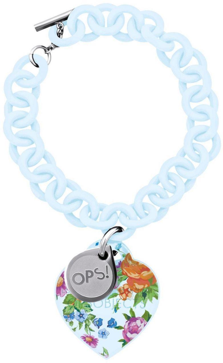 Obs! Objects náramok Flower svetlo modrý značky Ops! Objects - Lovely.sk 99c88b24c7b